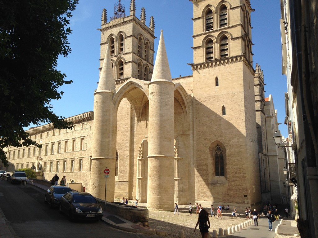 History of montpellier the south of france - Cathedrale saint pierre de montpellier ...