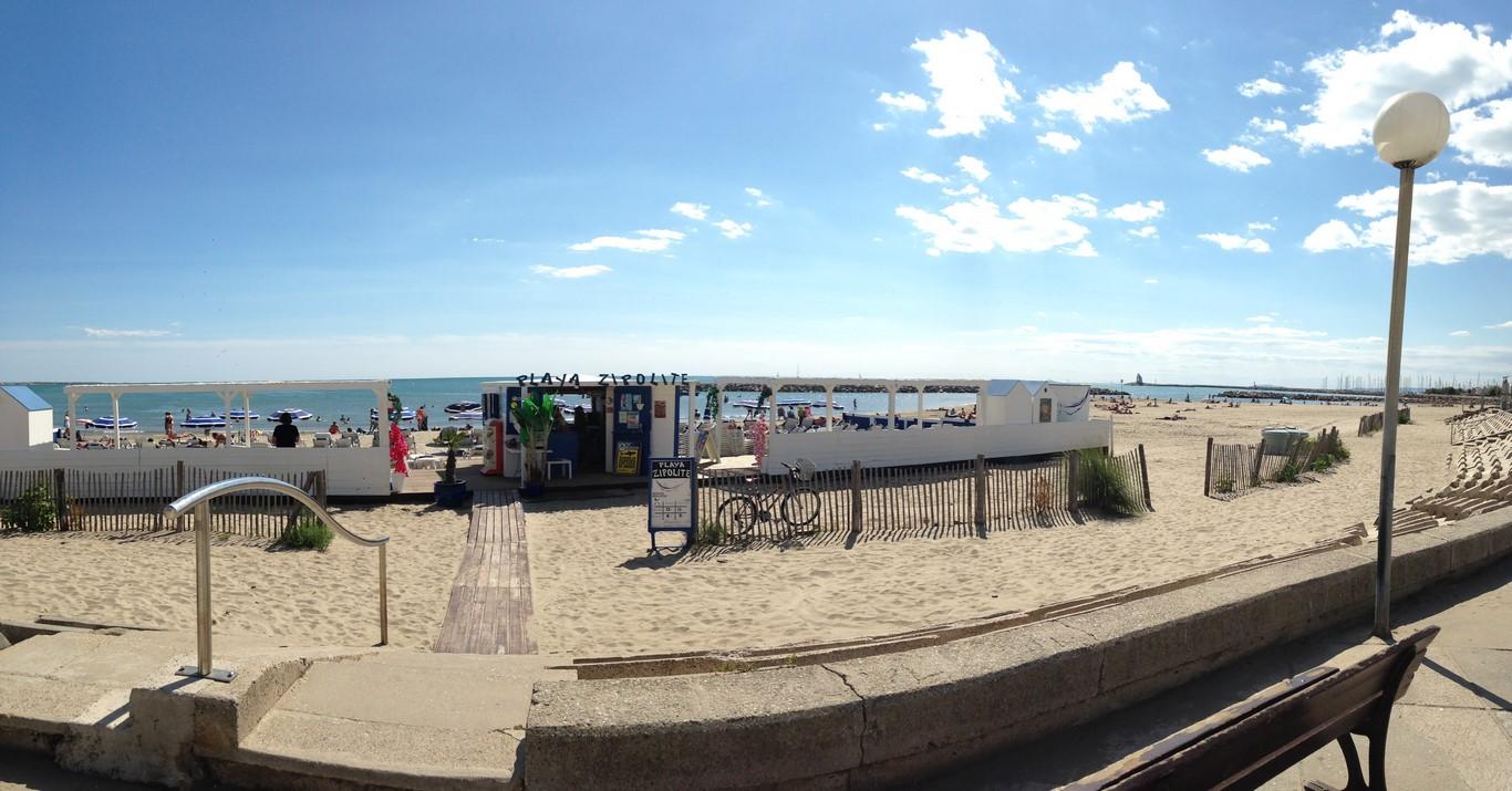 Grand Motte, beach